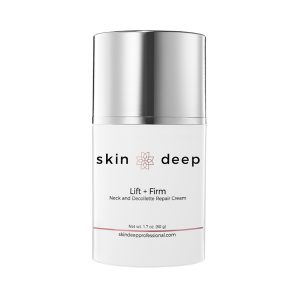 skin deep lift and firm neck and decollette repair cream