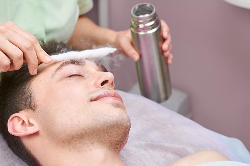 cryotherapy facials skin deep