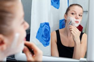 dermaplaning is like shaving to look younger