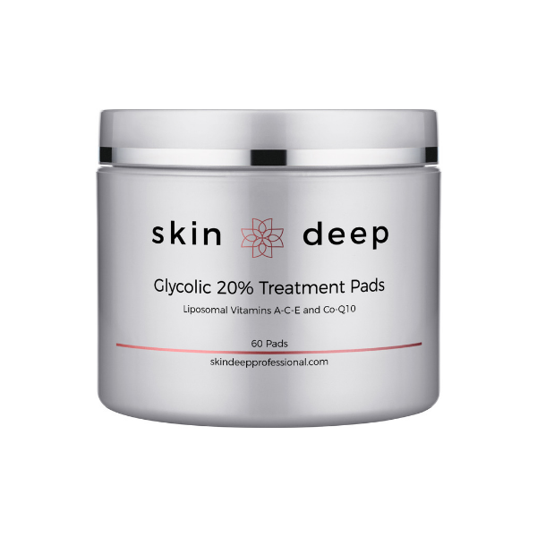 Skin Deep Glycolic 20% Treatment Pads