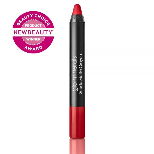 glo-minerals Suede Matte Crayon Bombshell