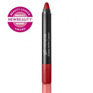 glo-minerals Suede Matte Crayon Crimson